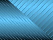 蓝色对角条纹 库存例证