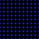 蓝色小点无缝的背景 免版税图库摄影