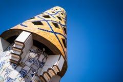 蓝色屋顶巴尔卡角 库存照片
