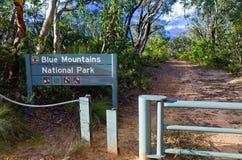 蓝色山国家公园 免版税库存图片
