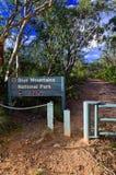 蓝色山国家公园 免版税图库摄影
