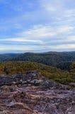 蓝色山国家公园 免版税库存照片