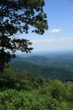 蓝色山土坎弗吉尼亚 库存照片