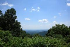 蓝色山土坎弗吉尼亚 免版税库存图片