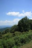 蓝色山土坎弗吉尼亚 库存图片