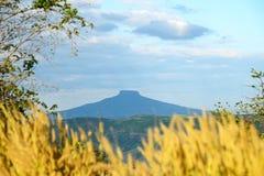 蓝色山,泰国 免版税库存照片