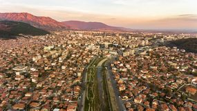蓝色岩石,斯利文,保加利亚 免版税图库摄影