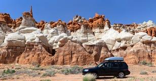蓝色峡谷,亚利桑那 免版税库存图片