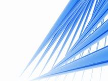 蓝色峰值 向量例证