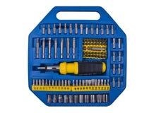 蓝色工具 库存图片