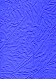 蓝色布料-亚麻制织品材料纹理 库存照片