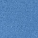蓝色帆布纹理或背景 免版税库存照片