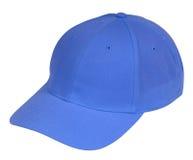 蓝色帽子 免版税库存照片