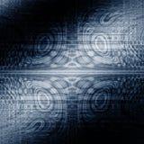 蓝色幻想词摘要神秘主义者背景 库存例证