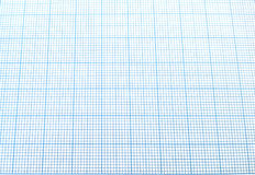 蓝色座标图纸 库存照片