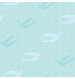 蓝色忍受鸟模式 免版税库存照片