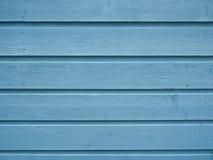 蓝色房屋板壁 库存照片