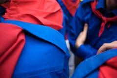 蓝色打扮giorgio s圣徒 免版税库存图片