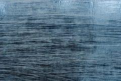 蓝色抓了金属纸背景纹理 免版税库存图片