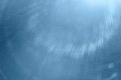 蓝色抽象光芒 免版税库存图片