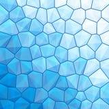 蓝色抽象几何背景 图库摄影