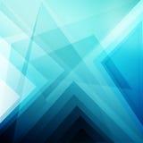 蓝色抽象墙纸 免版税库存图片