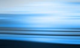 蓝色抽象海滩 免版税库存照片