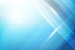 蓝色抽象背景几何亮光和层数元素传染媒介 库存例证