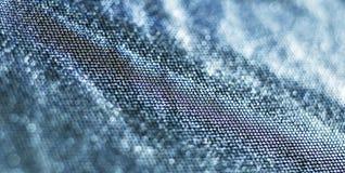 蓝色抽象背景横幅 库存图片