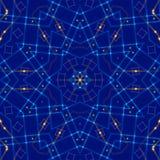 蓝色抽象背景,光 库存照片