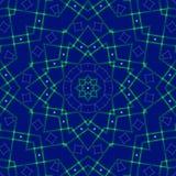蓝色抽象背景,光 图库摄影
