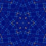蓝色抽象背景,光 免版税图库摄影