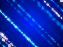 蓝色抽象背景,圈子, bokeh 库存图片