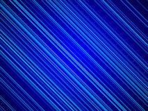 蓝色抽象背景,蓝线 免版税库存图片
