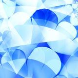 蓝色抽象背景 免版税库存图片