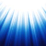 蓝色抽象背景 向量例证