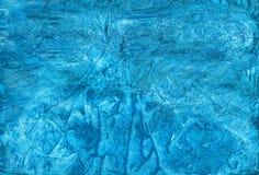蓝色抽象艺术性的手工制造树胶水彩画颜料背景为differen 免版税图库摄影