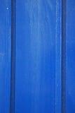 蓝色抽象金属在英国 库存图片