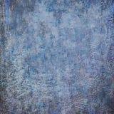 蓝色抽象难看的东西装饰老剧烈的黑暗的织地不很细Backg 免版税库存图片