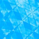 蓝色抽象Origami纸背景-纹理 向量例证