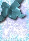 蓝色拼贴画节假日丝带 免版税库存照片