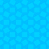 蓝色摘要被弄脏的无缝的样式 库存例证