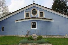 蓝色教会 免版税图库摄影