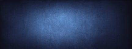 蓝色教室黑板背景纹理 免版税库存图片