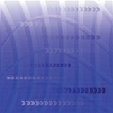 蓝色数字式背景 库存例证