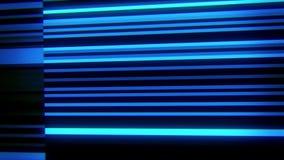 蓝色数字霓虹线VJ圈行动背景 股票视频