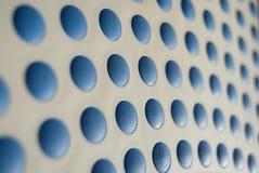 蓝色斑点 免版税库存图片