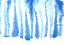 蓝色斑马皮肤样式 皇族释放例证