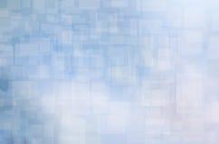 蓝色方形背景 免版税库存照片
