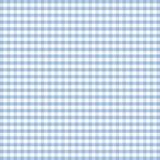 蓝色方格花布淡色无缝 库存图片